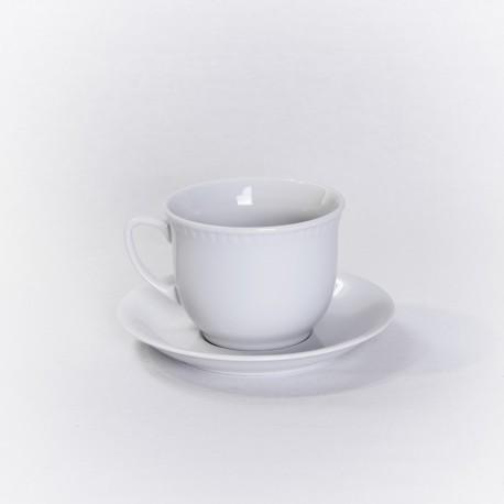 Tasse et sous tasse