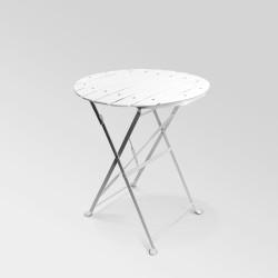Table Square blanche