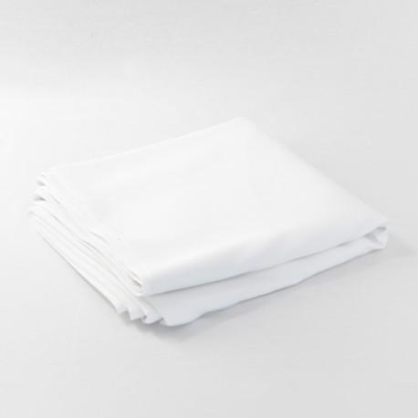 Nappe blanche 180X180 coton