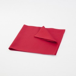 Serviette rouge