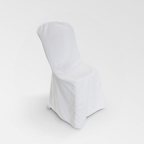 Housse blanche tissu
