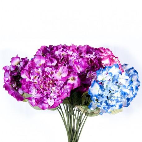 Fleur : Hortensia / Tige 70cm, artificielle
