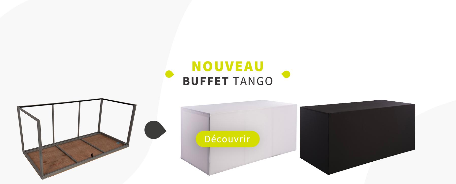 Nouveau ! Buffet TANGO - location buffet bordeaux