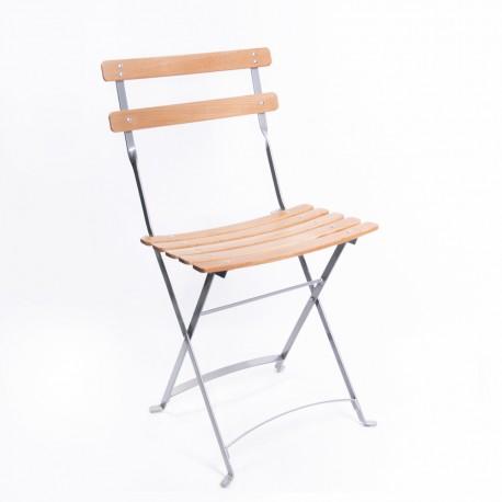 Chaise SQUARE pliante bois
