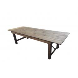 Table bois brut HÉRITAGE